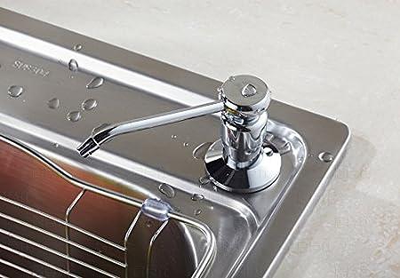 Dishwashing Liquid Dispenser in Sink Dishwashing Liquid