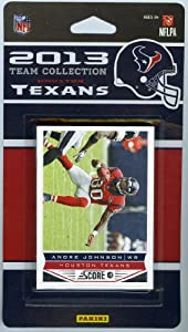 Houston Texans 2013 Score NFL Football Limited Edition Factory Sealed 13 Card... by Panini