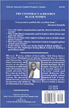 The Conspiracy to Destroy Black Women: Michael Porter: 9780913543726: Amazon.com: Books