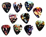 Guns N Roses Silver Edition Edition Set Of 10 Loose Guitar Picks