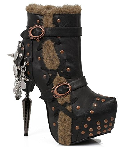 Hades-Griffin-High-Heel-Ankle-Boot-Black
