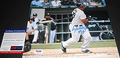 "Jose Abreu Chicago White Sox PSA DNA ""IN The Presence COA"" Autographed Signed 8x10"