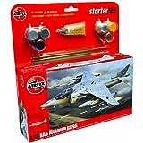 Airfix A55300 Harrier GR9 1:72 Scale Model Large Starter Set