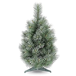 Swift - 60cm Frost & Glitter Hardneedle Artificial Christmas Tree