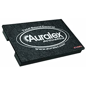 Auralex GRAMMA: Amp and Monitor Isolation Riser, Charcoal, Single $43.99