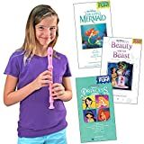 Disney Princess Recorder And Song Book - 3 Songbooks Play Your Favorites