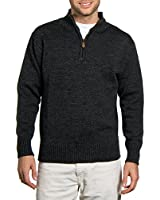 Wool Overs Pull camionneur homme en laine