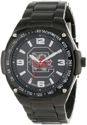 Golf Smart Watches special price: Game Time Unisex COL-WAR-SCA Warrior South Carolina Analog 3-Hand Watch