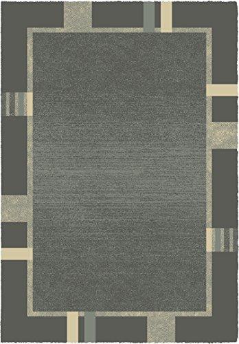 Contemporary designer rug grey