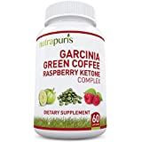 Best '3-In-1' Garcinia Cambogia, Green Coffee Bean & Raspberry Ketones Extract - A Fresh, Premium Formula, All Natural Supplement That Supports Fat Burn, Health And Weight Loss - Recommended As A Perfect Way To Cleanse, Diet And Slim Fast - 60 Ultra Convenient 1300mg Max Pure Capsules - Better Than Liquid Or Drops With No Harmful Side Effects - Plus 100% Lifetime Happiness Guarantee!