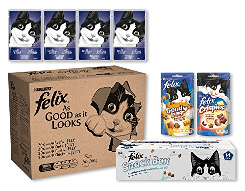 felix-as-good-as-it-looks-cat-food-pouches-80-pack-and-cat-treats-14-pack-bundle