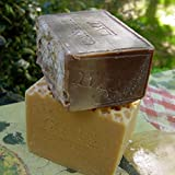 Coffee Soap (French Cafe Au Lait) and Goats -Buttermilk Aged Soap Set Coffee Soap 12 Oz +Milk Soap 9 Oz Bars
