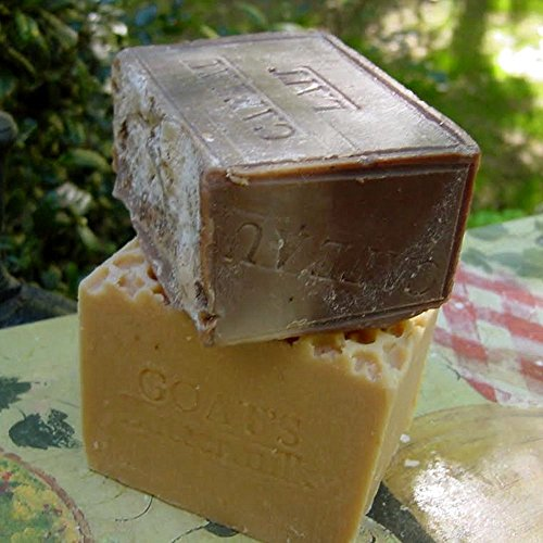 Coffee Soap (French Cafe Au Lait) And Goats -Buttermilk Aged Soap Set (11+ Oz) Bars