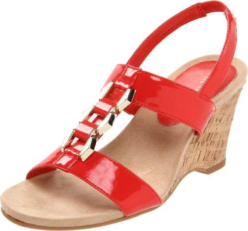 AK Anne Klein Women's Custom Wedge Sandal