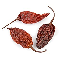 Ghost Chile (World's Hottest Chile), 5 Lb Bag, (Dried)