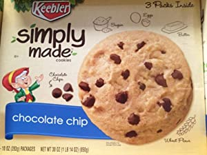 Keebler Simply Made Chocolate Chip Cookies Review