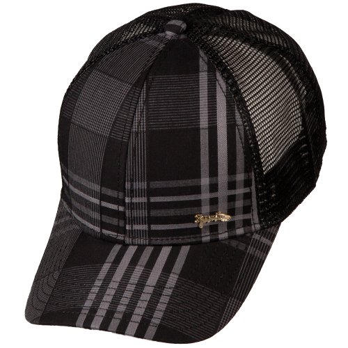 Djinns Low Fitted Check 2013 Fitted Cap Schwarz