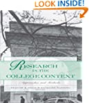 Research in the College Context: Appr...