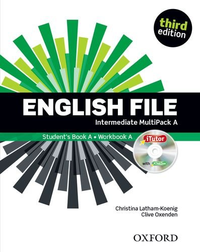 English File third edition: English File Intermediate: Student's Book MultiPack a without Oxford Online Skills Practice 3rd Edition