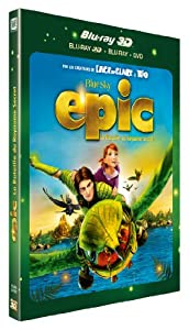 Epic - La bataille du Royaume Secret [Combo Blu-ray 3D + Blu-ray + DVD]