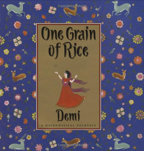 One Grain Of Rice: A Mathematical Folktale: Demi: 9780590939980: Amazon.com: Books