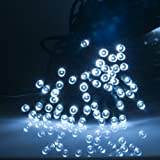 Weanas ® Solar Power String Fairy Lights 500 LEDs Cool White 166 feet 50.5M Solar Energy for Indoor Outdoor Home Garden Christmas Wedding Party
