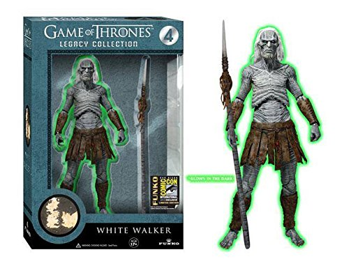Game of Thrones Legacy Collection White Walker Glow in the Dark 2014 SDCC Exclusive Figure