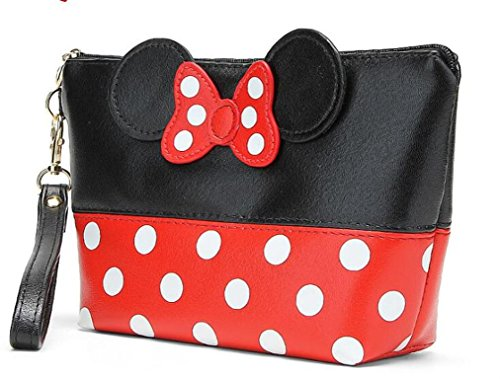 finexr-minnie-mouse-ears-style-polka-dots-cosmetic-bag-multifunction-travel-makeup-handbag-with-zipp
