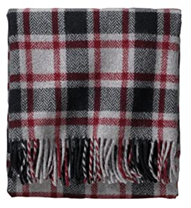 Amazon.com - Pendleton Eco-Wise Washable Throw Blanket, Grey/