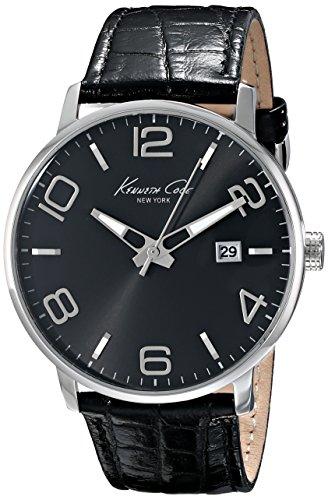 kenneth-cole-new-york-mens-kc8005-dress-sport-black-dial-black-strap-analog-watch