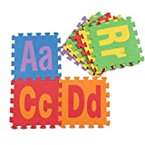 Baby 2.34 Sq Lowercase Capitalized A-Z Floor Mat Foam puzzle Mats