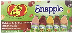 Jelly Belly Candy Gift Box, Snapple 4.25 oz