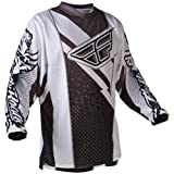 365-520YL - Fly Racing 2012 Youth F-16 Motocross Jersey L Black/White