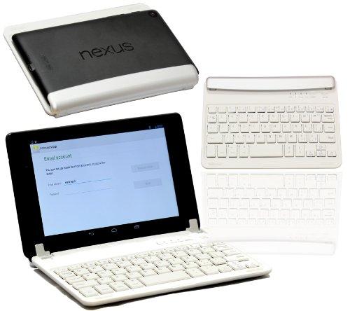 Sale!! Navitech Slim Wireless Mini Bluetooth Keyboard For The LG G Pad 8.3
