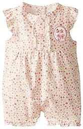 BON BEBE Baby-Girls Newborn Floral Jumper, Multi, 6-9 Months
