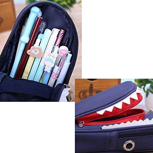 Unique Requin Pencil Case Creative Pouch Sac Pen Meilleur cadeau A