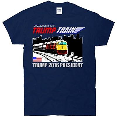 All Aboard The Trump Train 2016 President T Shirt