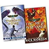 Rick Riordan The Kane Chronicles 2 Books Collection Pack Set RRP: �17.29 (The Throne of Fire, The Red Pyramid)by Rick Riordan
