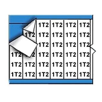 Marcador de alambre (25 tarjetas): Amazon.com: Industrial & Scientific