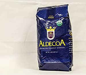 Aldecoa Whole Bean Organic Coffee