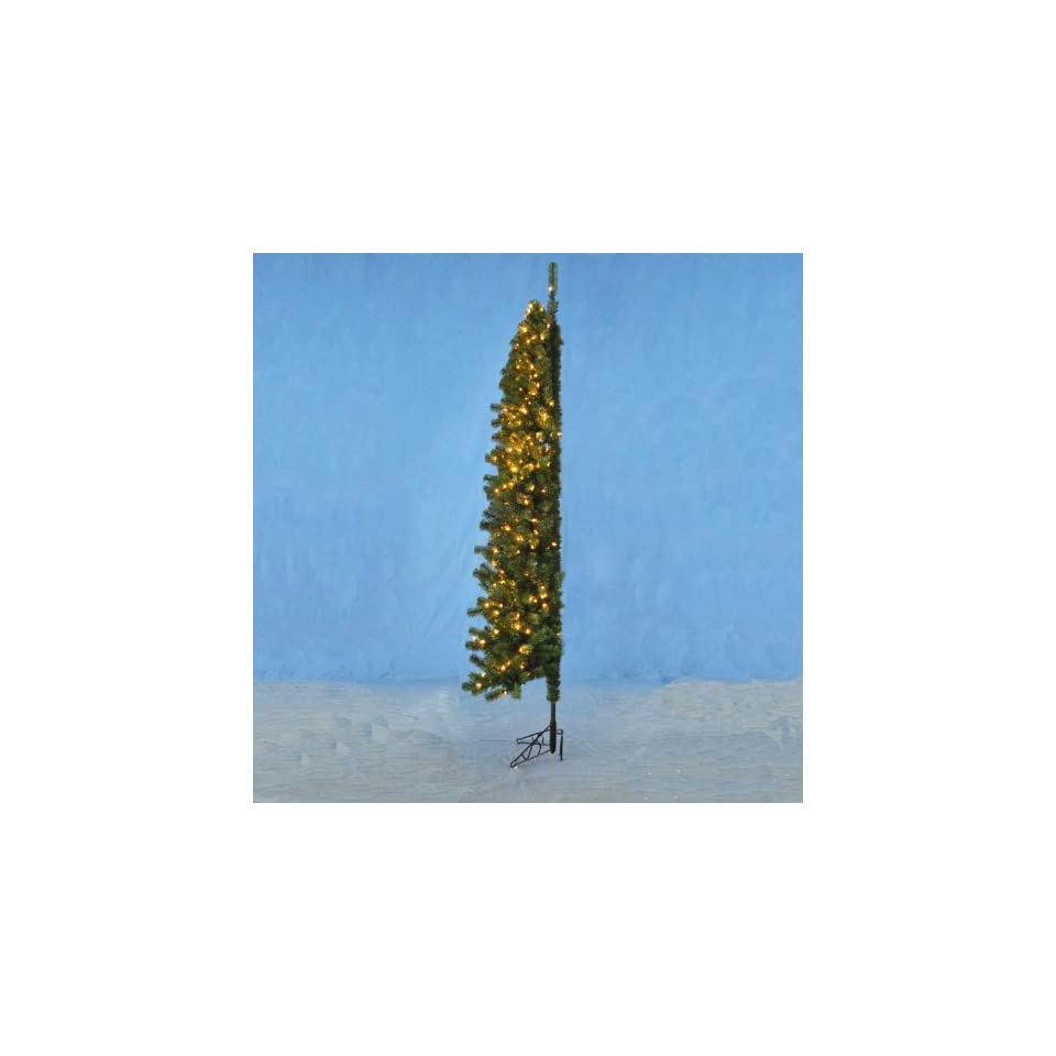 7.5 Pre Lit Winchester Corner Christmas Tree   Clear Lights