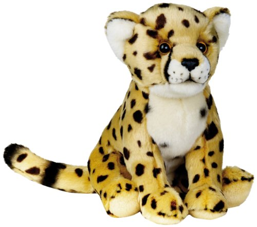 National Geographic Stuffed Animals Hand Puppet (1 Piece), Medium, Cheetah