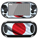 atFoliX Designfolie &#34;Japan Flagge&#34; fr Sony PlayStation Vitavon &#34;Designfolien@FoliX&#34;