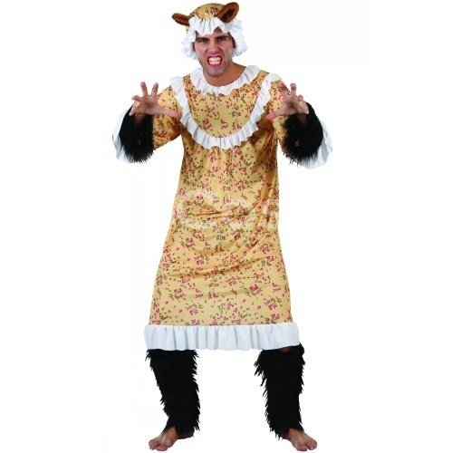 Imagen 1 de Big Bad Wolf Halloween Fancy Dress Costume (adult One size) (disfraz)