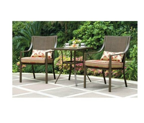 Mainstays Alexandra 3-piece Bistro Outdoor Patio