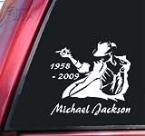 (シャドウマジック)ShadowMajik マイケルジャクソンMichael Jackson(This is it 1958-2009) 白 15.5cm x 14.5cm 【並行輸入品】