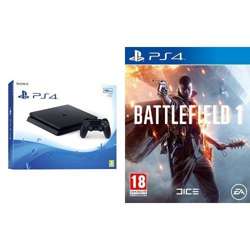 PlayStation 4 500 Gb D Chassis Slim + Battlefield 1