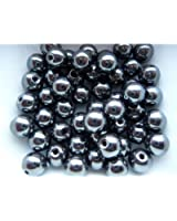 Perle shambamma Hématite