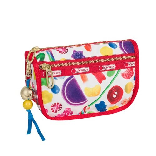 Dylan's Candy Bar LeSportsac Candy Zip Cosmetic in Candy Spill