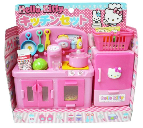 Hello Kitty Toys Set : Hello kitty kitchen play set miniature toy preschool girl